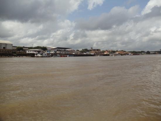 Barcarena, porto antigo, onde a cidade surgiu.