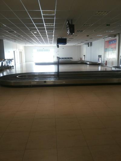Aeroporto de Imperatriz disponibiliza desembarque com duas esteiras.