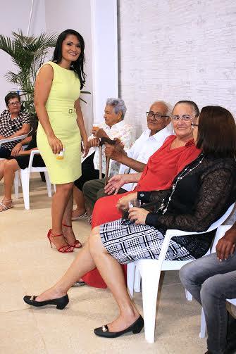 Silvane celebra presença de convidados