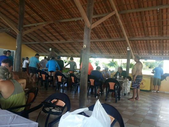Empresário de Tucuruí oferece almoço aos viajantes.