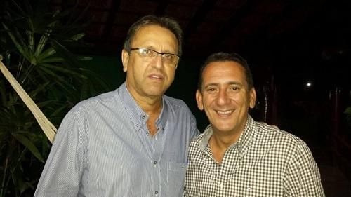 Marcelo Miranda, governador do Estado do Tocantins, e Jair Lopes Martins, alvo de ações criminais, acusados de desvio de recursos públicos.