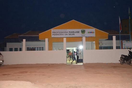 Creche Marluse Ferreira da Silva, inaugurada  na Folha 6