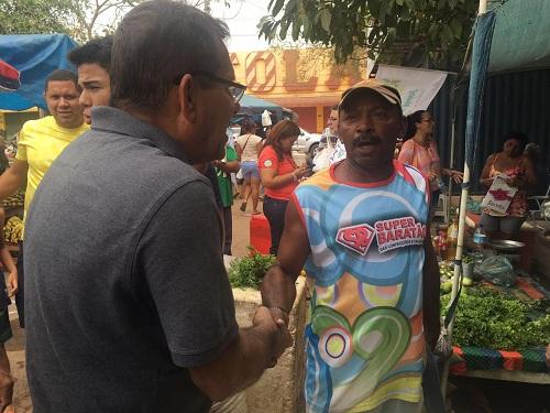 Dr. Jorge com o pescador Valberto