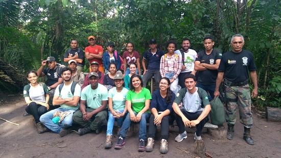 ICMBio capacita em Marabá equipe do programa de voluntariado da Flona do Tapirapé Aquiri