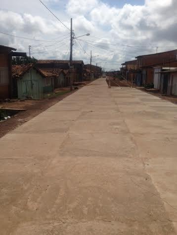 Chegada das cheias impediu a conclusão da parte final da Pará. Obras serão retomadas agora em maio.