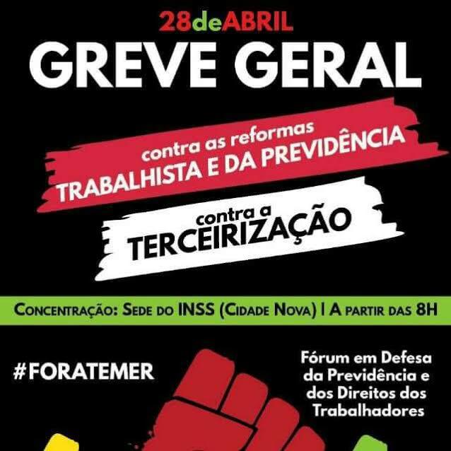 Greve Geral também promete parar Marabá
