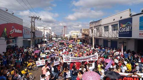 Manifestações no Pará marcam Greve Geral
