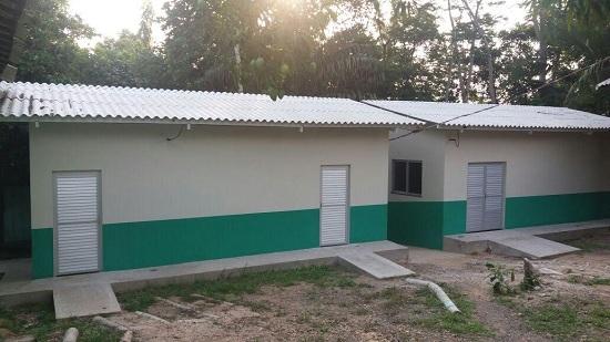 Hospital do Parque Zoobotânico de Marabá, inaugurado hoje.