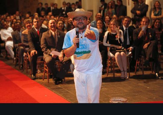 Juiz da 1ª Vara de Execuções Penais, Claudio Rendeiro, encena  personagem humorístico Epaminondas Gustavo