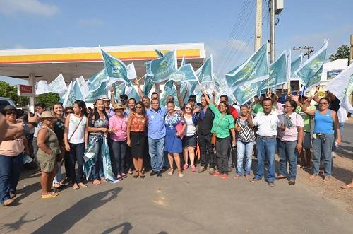 Dr. Jorge lidera caminhada na Marabá Pioneira