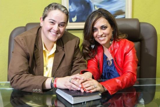 Lanna Holder e Rosania Rocha (Foto:Gabriel Quintão)