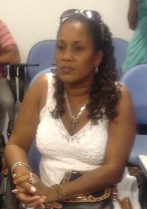 Médica cubana Arias Spenosa Stuart, que falou,  na solenidade, pelos colegas.