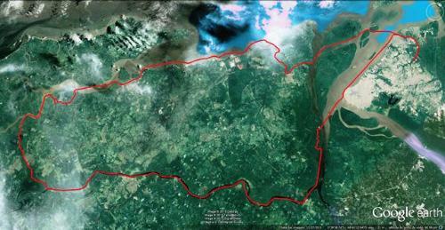 Mapa percurso