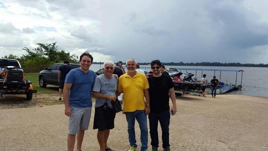 Thiago, Aluísio Meira, Jaary e Ciro