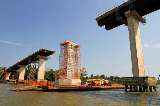 Em fase de conclusão as obras da ponte Moju Cidade