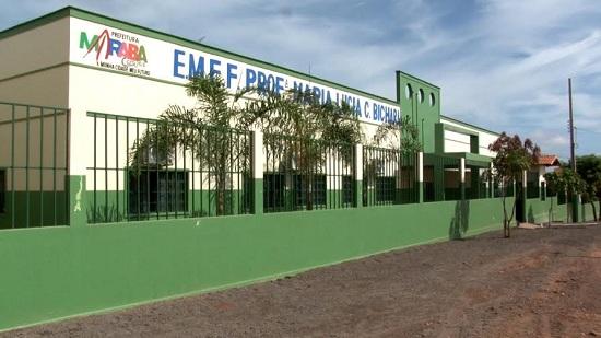 Nova Escola Maria Lúcia Bichara, 12 salas de aula