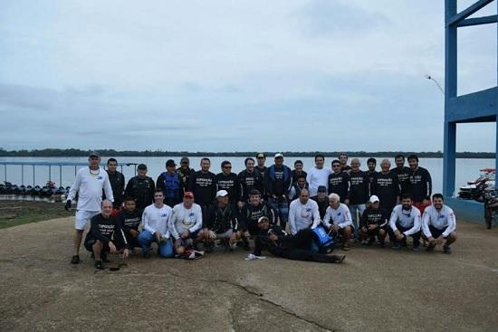 30 expedicionários deixam Marabá rumo a Belém de JetSki: viagem dura três dias