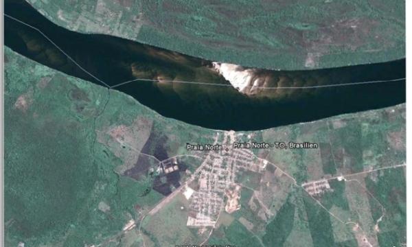 Ecoporto ficará dois quilômetros abaixo da cidade