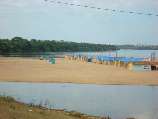 Imperatriz: praia do Cacau não dá para quem quer. Mais de 90%  submersos