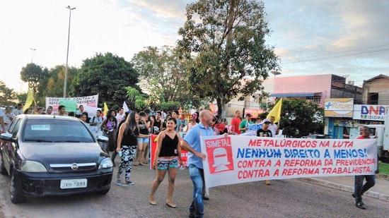 Marabaenses realizam protestos contra Temer