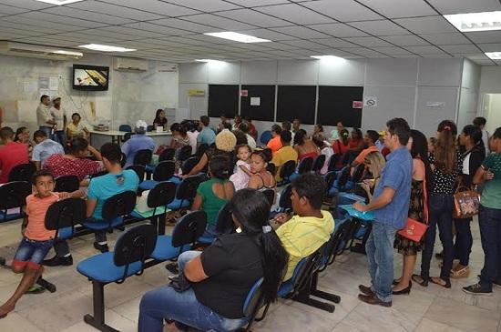 Usuários de Marabá e região lotam diariamente o Saci