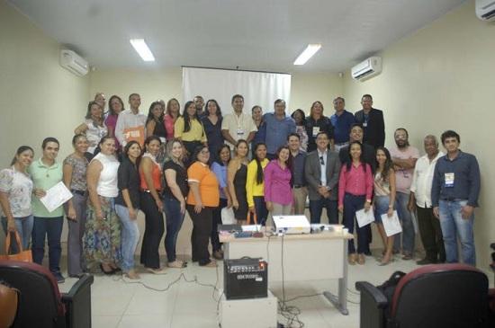 Equipe da Segfaz, liderada pelo secretário Ricardo Rosa, participando de curso.