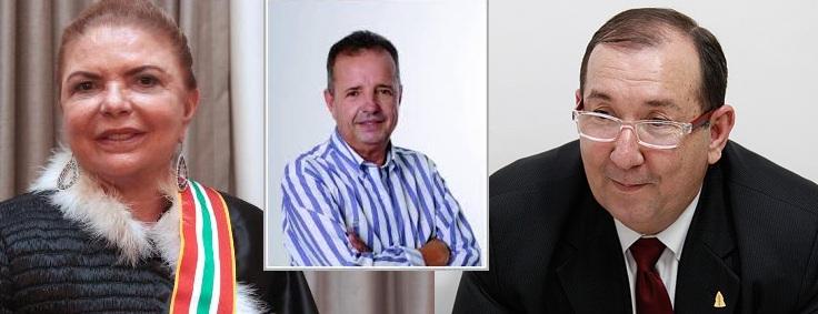 Desembargadora Edwiges e o procurador Medrado: prefeito pode vir a ser preso