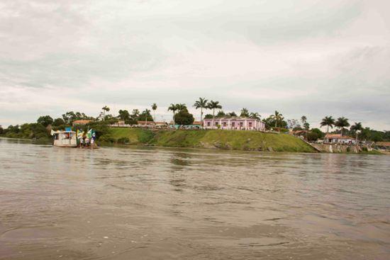 Chegando em São João do Araguaia.